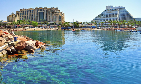 Photo for Eilat - a resort town on the Red Sea - Royalty Free Image