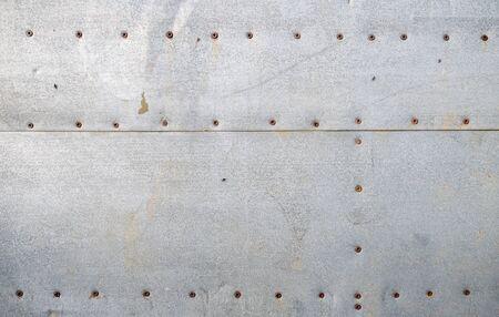 Photo pour Texture of old galvanized iron sheets - image libre de droit