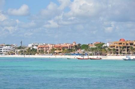 Playa Del Carmen in Mexico