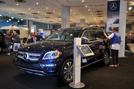 Mercedes GLK at the 2012 New York Auto Show