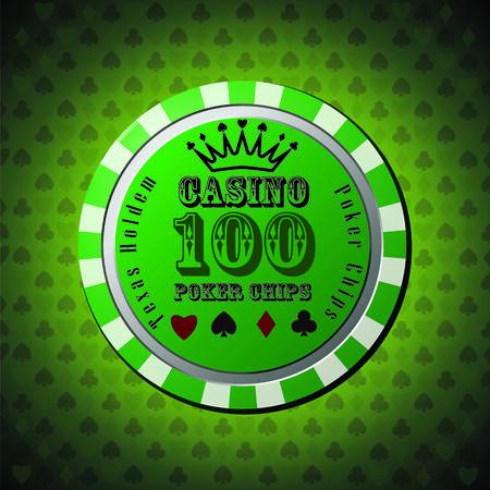Poker chip 100