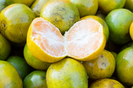 Fresh Orange in Market