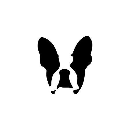 Illustration for French bulldog vector illustration - Royalty Free Image