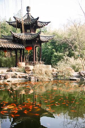 Garden in Jiangsu Suzhou