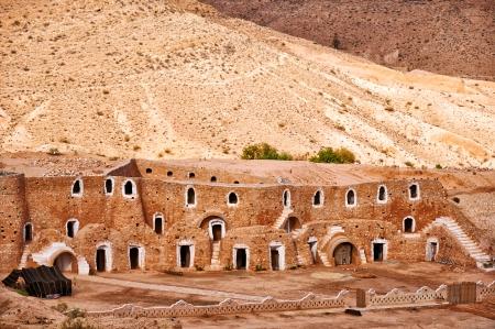 Berber dwelling in rocks, Matmata, Tunisia