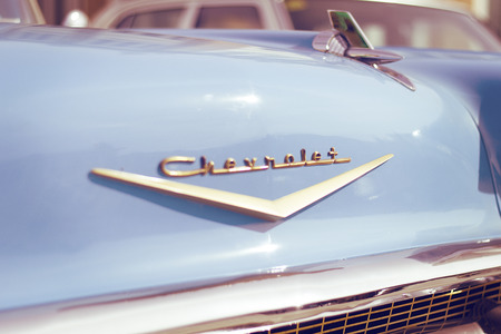 Detail of a Chevrolet Bell Air