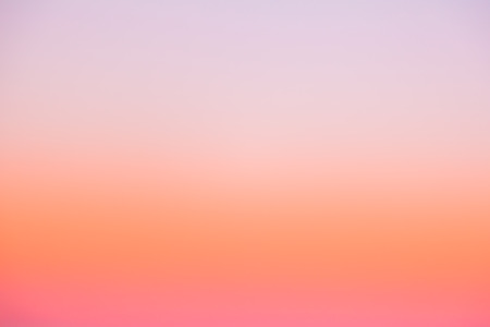 Beautiful color gradient sky on morning sunrise