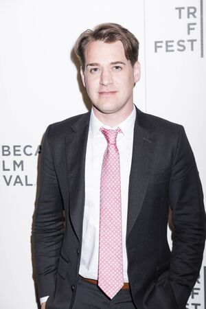 NEW YORK, NY , USA - APRIL 20: Actor TR Knight attends National Geographic's 'Genius' Premiere during the 2017 Tribeca Film Festival at BMCC Tribeca PAC, Manhattan