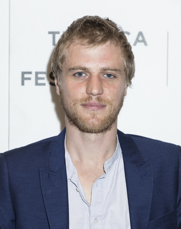 NEW YORK, NY , USA - APRIL 20: Actor Johnny Flynn attends National Geographic's 'Genius' Premiere during the 2017 Tribeca Film Festival at BMCC Tribeca PAC, Manhattan