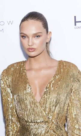 New York, NY, USA - September 5, 2019: Romee Strijd attends The Daily Front Row 7th Fashion Media Awards at The Rainbow Room at Rockefeller Center