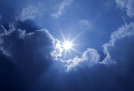 Blue Sky Sun Clouds