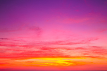 Photo for Colorful sky after the sunset. Evening sky background. - Royalty Free Image