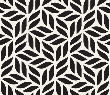 Illustration for Vector seamless pattern. Modern stylish abstract texture. Repeating geometric tiles from striped elements  - Royalty Free Image