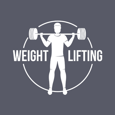 Weightlifting Club Logo Templates Fitness Aerobic Workout