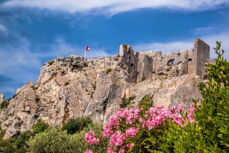 Les Baux-de-Provence, castle in Provence, France