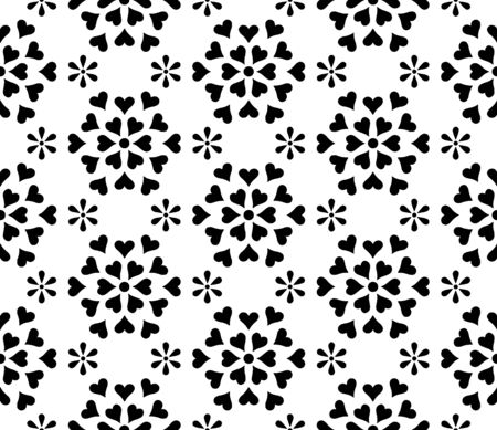 Illustration pour Abstract patterns seamless Stencil doodle sketch good mood. Good for creative and greeting cards, posters, flyers, banners and covers. - image libre de droit