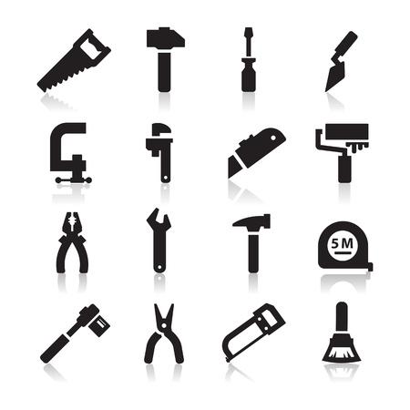 Illustration pour Tools Icons  - image libre de droit