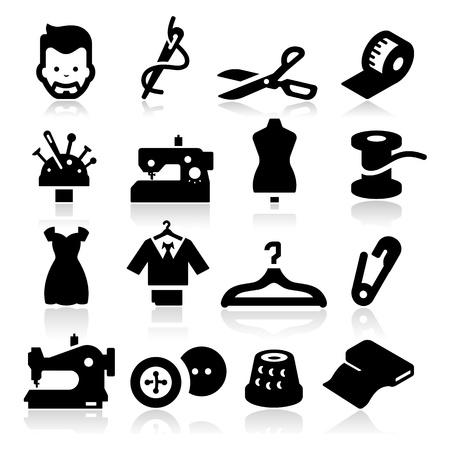 Foto de Sewing Icons - Imagen libre de derechos