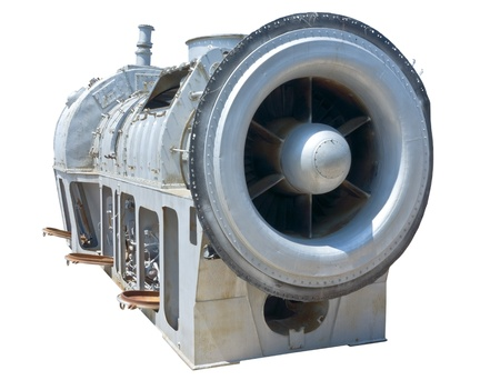 Photo pour Close up image of the front of a Jet Fighter engine  - image libre de droit