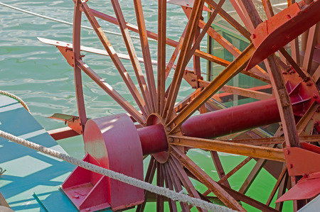 Paddle Wheel From a Steamboat