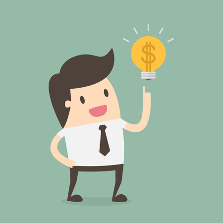 Illustration for Business Concept Illustration. - Royalty Free Image