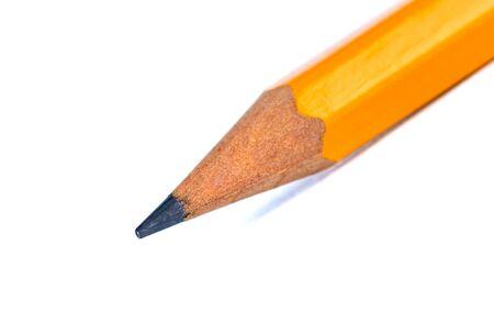 Foto de Pencil isolated on pure white background. Painting. Object. - Imagen libre de derechos