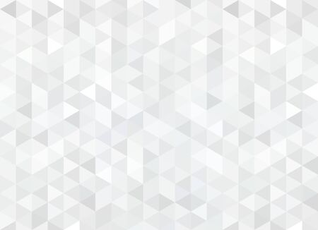 Illustration for Abstract pattern of geometric shapes. Seamless gray rhombuses mosaic. - Royalty Free Image