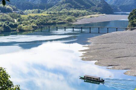 Foto de The Clear Stream of the Shimanto River - Imagen libre de derechos