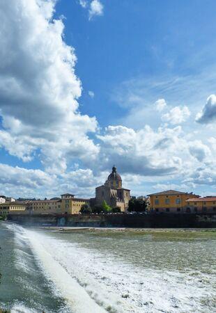 Foto per L Arno a Firenze 02 - Immagine Royalty Free