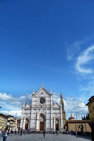 Foto per Firenze, piazza Santa Croce 01 - Immagine Royalty Free