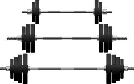 set of weights. illustration