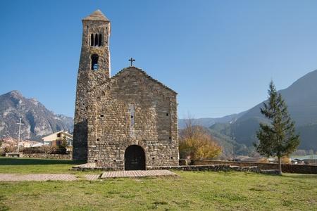 Sant Climent church in Coll de Nargo, Catalonia