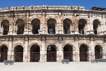 Les Arenes, roman amphitheatre of Nimes, France