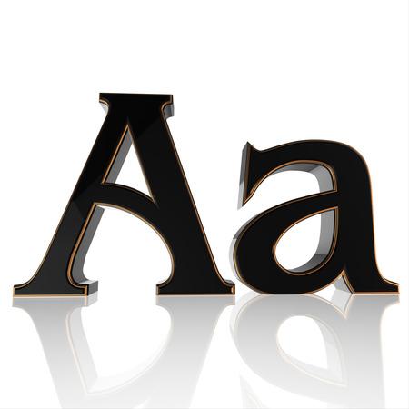 alphabet black v1