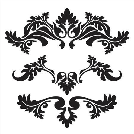 Illustration pour vector ornament In flower style - image libre de droit