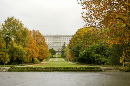 Madrid Royal Palace, Campo del Moro Gardens. Declared a historic-artistic interest in 1931