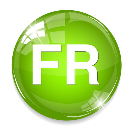FR sign icon