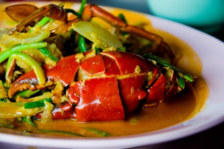 Sea food with Crab
