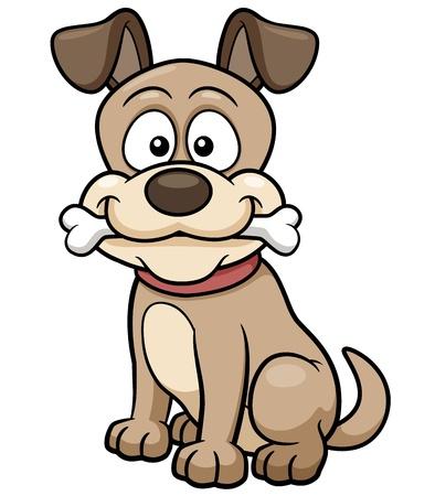Vector illustration of Cartoon Dog
