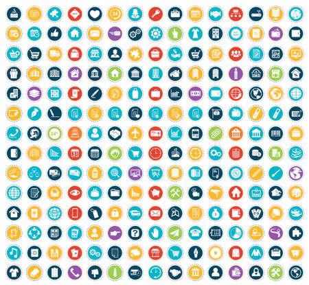 Illustration pour Business icons - image libre de droit