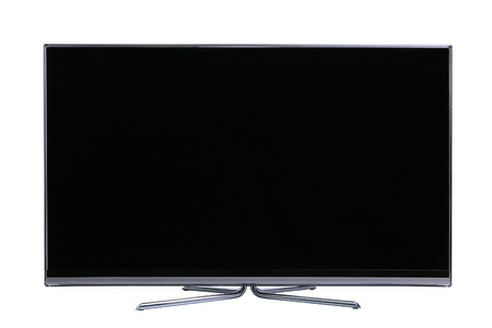 Photo for Big screen flat lcd tv - Royalty Free Image