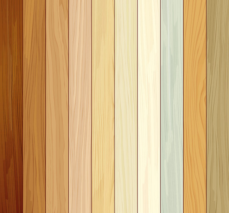 Wood collections colored ten realistic texture design
