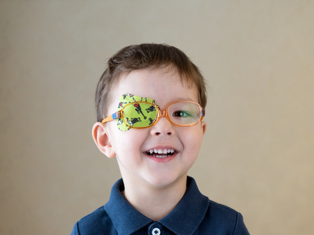 Photo for eye patch - Royalty Free Image