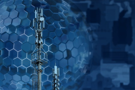 Base station network operator. 5G. 4G, 3G mobile technologies.