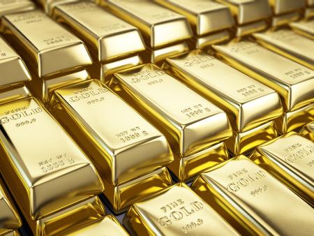 Foto de Fine Gold Bars - Imagen libre de derechos
