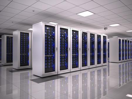 Photo pour Server room - image libre de droit
