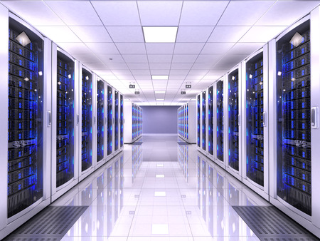 Photo pour Server room - image libre de droit