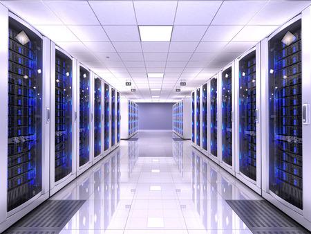 Foto de Server room - Imagen libre de derechos