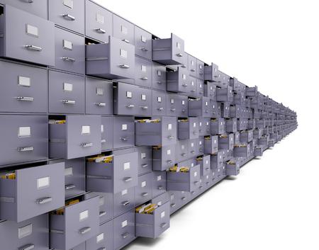Photo pour File cabinets - image libre de droit