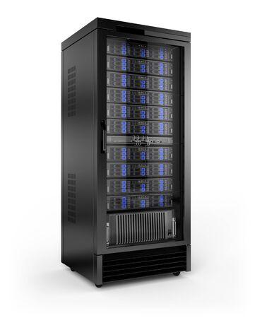 Photo pour Server Rack - image libre de droit